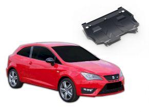Protectores  de motor y caja de cambios Seat Ibiza se adapta todos motores 2008-2014