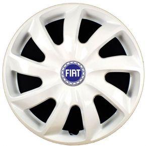 """Tapacubos para FIAT BLUE 16"""", STIG BLANCO LACADO 4 pzs"""