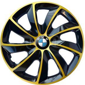"Tapacubos para BMW 14"", STIG EXTRA oro  4pzs"