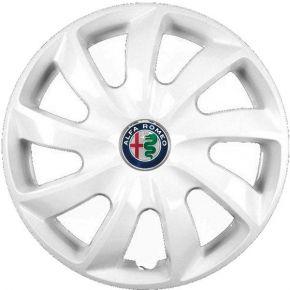 """Tapacubos para ALFA ROMEO 14"""", STIG BLANCO LACADO 4 pzs"""