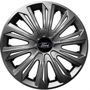 "Tapacubos para FORD 16"", STRONG GRAFFITE LACADO 4 pzs"