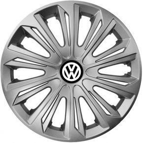 "Tapacubos para VOLKSWAGEN 16"", STRONG GRIS 4 pzs"