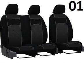 Fundas de asiento a medida Vip FIAT SCUDO I 2+1 (1995-2007)