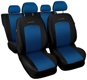Fundas de asiento universales SPORT LINE azul