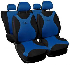 Fundas de asiento universales TURBO azul