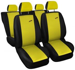 Fundas de asiento universales XR amarillo
