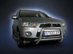 Bullbar delanteros Steeler para Mitsubishi Outlander 2010-2012 Modelo U