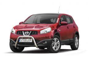Bullbar delanteros Steeler para Nissan Qashqai 2010-2013 Modelo U