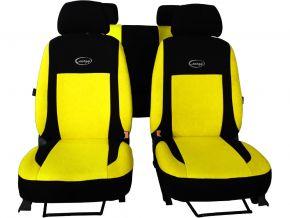 Fundas de asiento universales ENERGY amarillo