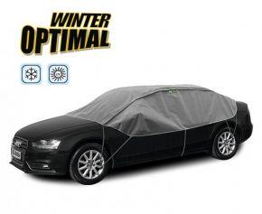 Funda protectora INVIERNO OPTIMAL para los vidrios y el techo del auto Seat Toledo do 2004 280-310 cm