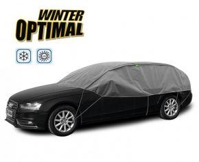 Funda protectora INVIERNO OPTIMAL para los vidrios y el techo del auto Mitsubishi Lancer hatchback 295-320 cm