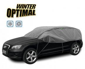 Funda protectora INVIERNO OPTIMAL para los vidrios y el techo del auto Renault Koleos 300-330 cm