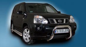 Bullbar delanteros Steeler para Nissan X-Trail 2007-2010 Modelo U