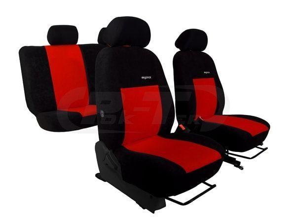 VW T5 6 asientos 2+1 y 2+1 2003-2015 cubiertas de asiento de tela a medida hecho a la medida